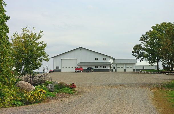 Lake Lillian MN, Ag Shop, Ron Foust, Lester Buildings
