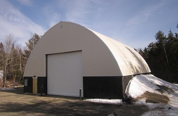 Princeton Me Salt Storage Building Lester Buildings