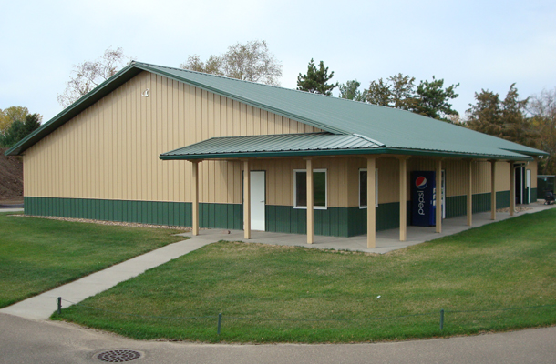 Charmant Hudson, WI, Golf Cart Storage Building, Butch Boehler, Lester Buildings