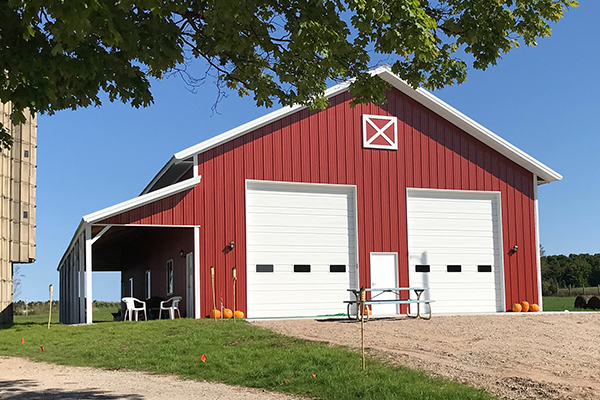 Cheboygan, MI - Ag Storage/Shop Building - Lester Buildings