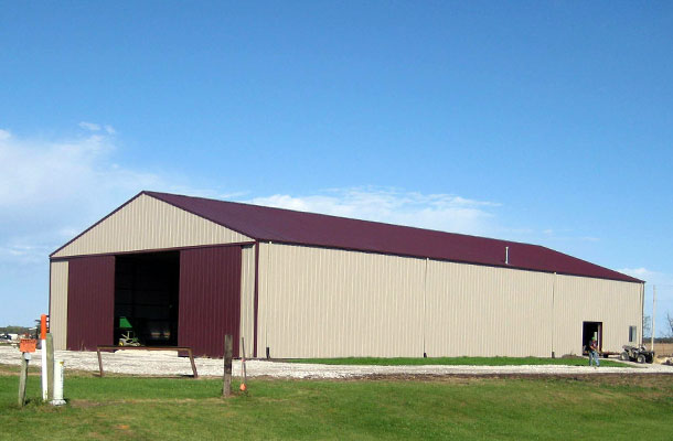 Marshalltown IA, Ag Storage or Shop, Eastern Iowa Building Inc., Lester Buildings