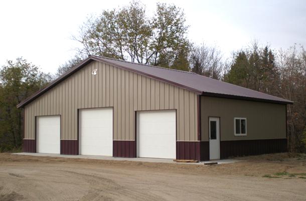 LeSueur, MN - Garage Building - Lester Buildings Project