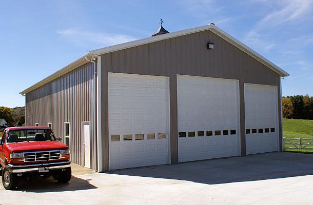 Galax Va Garage Building Lester Buildings Project 323243