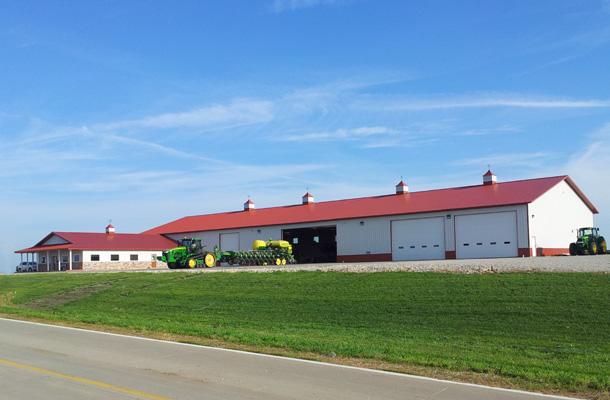 Washington Ia Ag Storage Shop Building Lester
