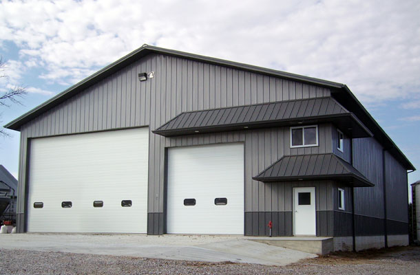 Daugherty Ia Ag Storage Shop Building Lester