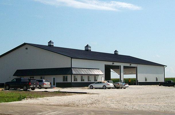 Monmouth Ia Ag Storage Shop Building Lester Buildings