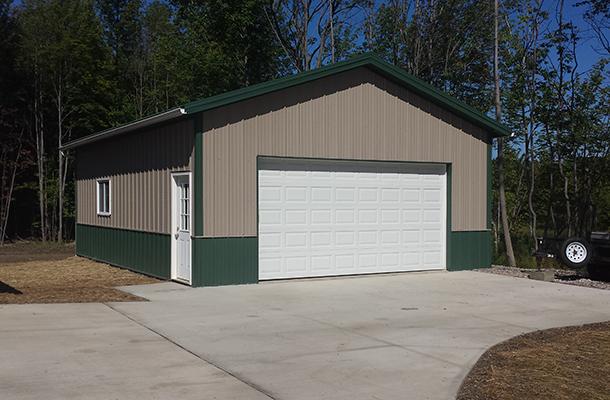 Eden Ny Garage Building Lester Buildings Project 313989