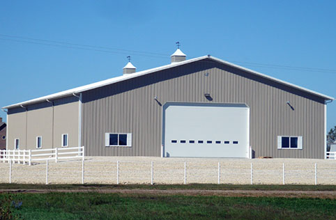 Washington Ia Ag Storage Shop Building Lester Buildings Project 511480