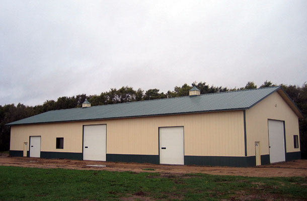 Starbuck MN, Ag Storage and Shop, Daryl Delzer, Lester Buildings