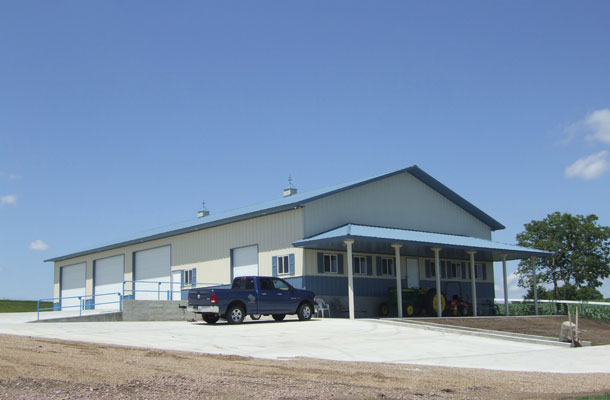 Yankton, SD - Ag Storage/Shop Building - Lester Buildings