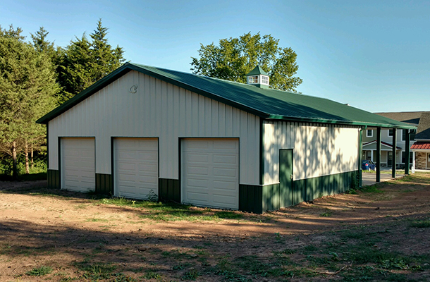 Gettysburg PA, Garage, Melvin W. Smith Building Systems LLC, Lester Buildings