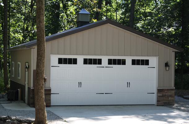 Cedar Rapids Ia Garage Building Lester Buildings Project 512583