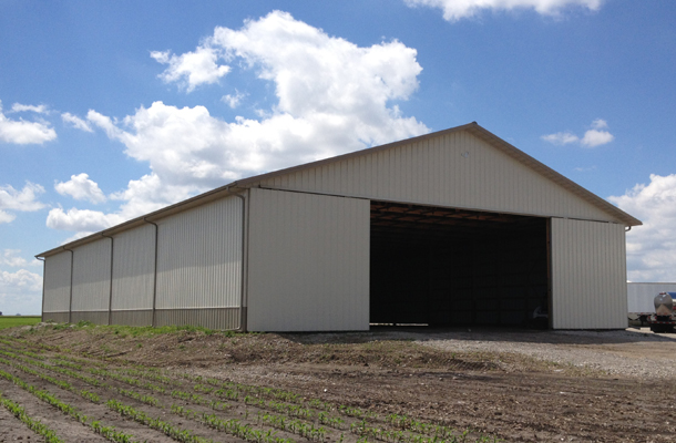 Ancona, IL, Ag Storage, Lester Buildings