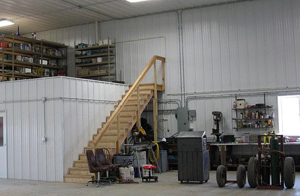 Albert City Ia Ag Storage Shop Building Lester