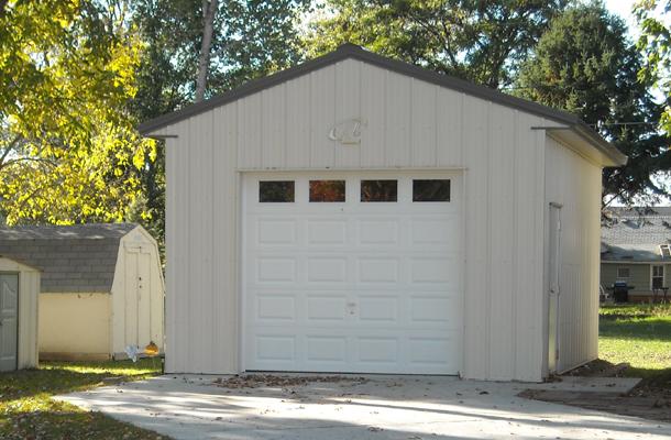 Hankinson Nd Garage Building Lester Buildings Project