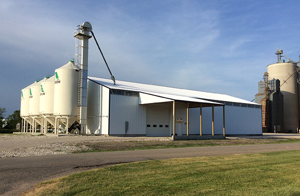 Marathon IA, Seed storage, Tom Witt Contractor Inc., Lester Buildings