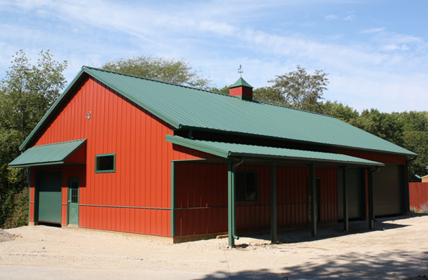 North Liberty Ia Garage Hobby Shop Building Lester