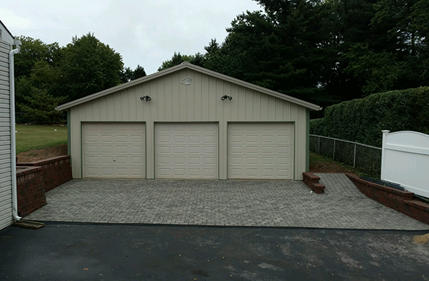 West Chester PA, Garage, Melvin W. Smith Building Systems LLC, Lester Buildings